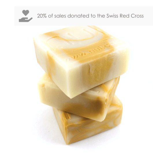 Viktor - nul soap bar - 20% of sales go to the Swiss Red Cross