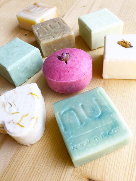 nul soap and shampoo bars - zero-waste handmade vegan soap and shampoo bars with natural essential oils